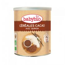 Céréales Cacao Bébé Bio 220G
