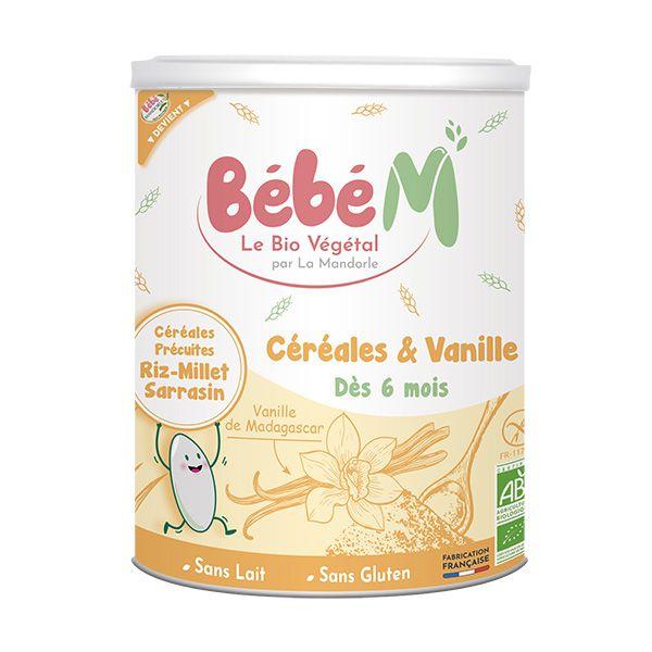Céréales Vanille 400g Bébé Mandorle