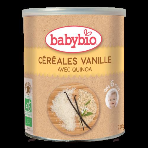 Céréales Vanille Bébé Bio 220G Babybio
