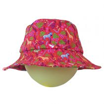 Chapeau Anti-UV bébé Safari