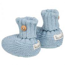 Chaussons de Bébé Bleu Koeka