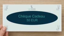 Chèque Cadeau Valeur 50 Eur