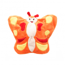 Cherry Belly Baby Peluche Chauffante Papillon