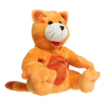 Cherry Belly Enfant Peluche Noyaux De Cerise Chat