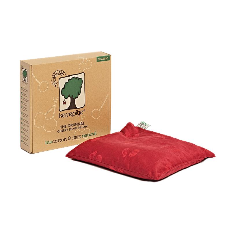 cherry coussin noyaux de cerise carr classic. Black Bedroom Furniture Sets. Home Design Ideas