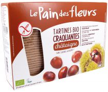 Chesnut Organic Crispbread 300G Pain Des Fleurs