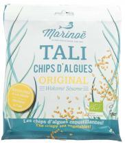 Chips d\'algues Wakamé Sésame 40g Marinoë