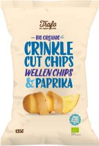 Chips striées Bio Paprika 125G