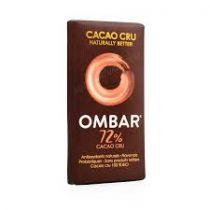 Chocolat Cru Noir 72% Bio 35G