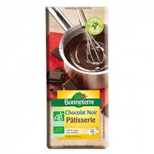 Chocolat Noir Pâtisserie 60% Cacao Bio 200G