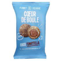 Coeur de Boule Brownie Beurre de Cacahuètes Funky Veggie