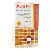 Complexe Vitamines Multi Fit 60 Comprimés
