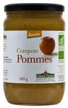 Compote de pommes 660g Coteaux Nantais