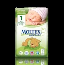 Couches Jetables Newborn 2-4kg 23 pièces Moltex