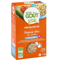 Couscous Tomato Carrot Meal 240g Good Gout Kidz