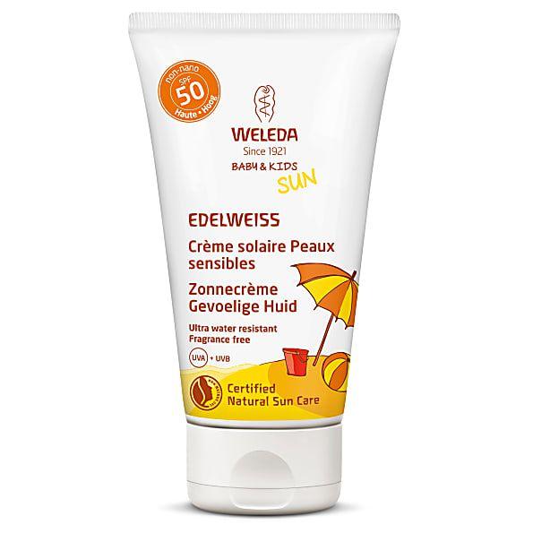 Crème Solaire Peaux sensibles SPF50 50ml Weleda