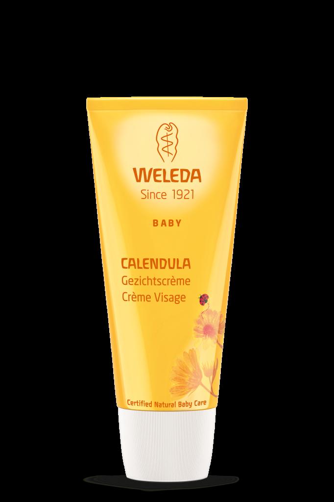 Crème Visage Bébé Calendula 50Ml