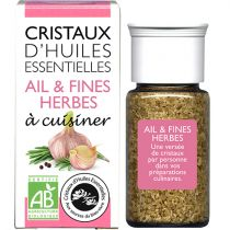 Cristaux Huiles Essentielles Ail Et Fines Herbes 18G