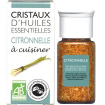 Cristaux Huiles Essentielles Citronnelle 18G
