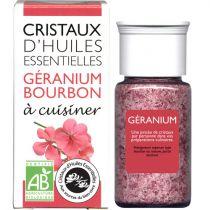 Cristaux Huiles Essentielles Geranium Bourbon 18G