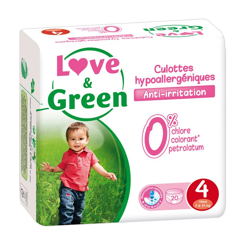culottes d 39 apprentissage hypoallerg niques love green. Black Bedroom Furniture Sets. Home Design Ideas