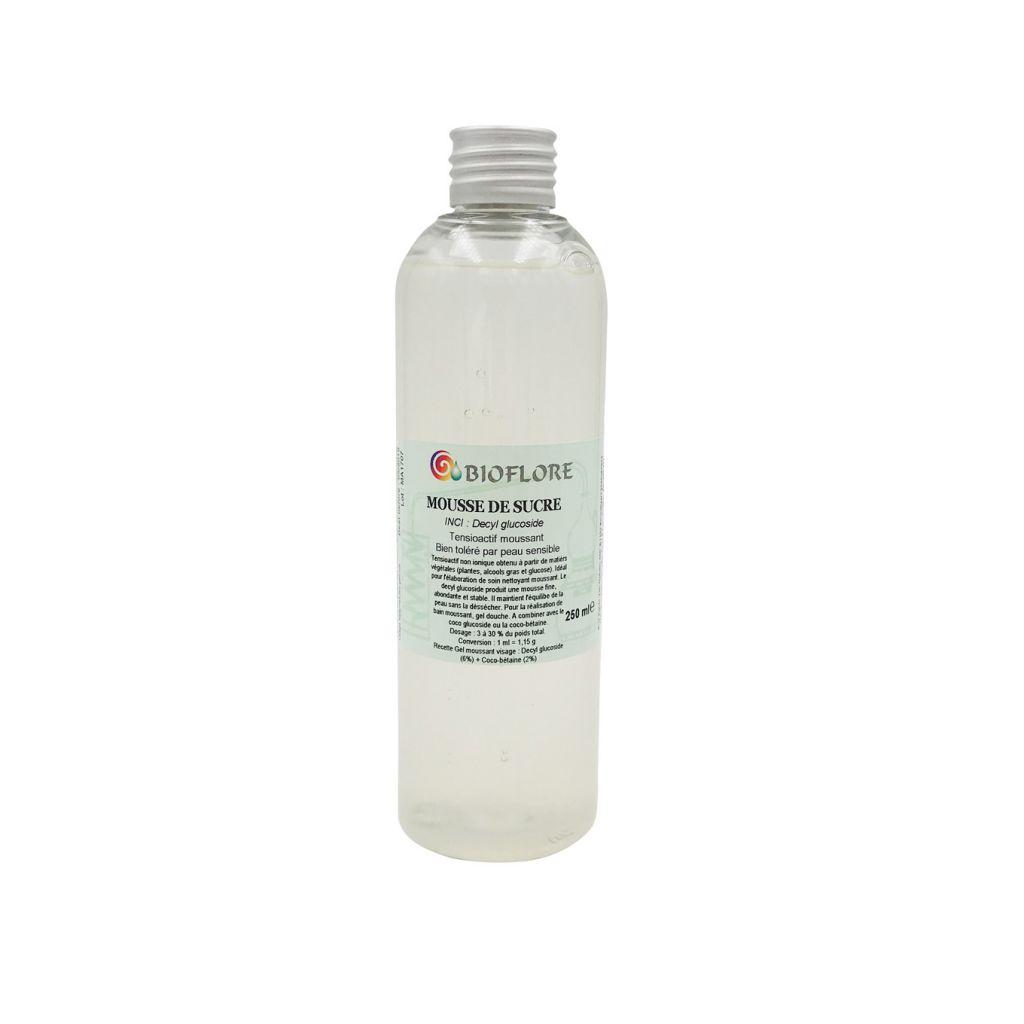 Decyl Glucoside Mousse de Sucre 250ml Bioflore