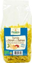 Deegwaren Tortils Met Citroen En Saffraan Bio 250G Primeal