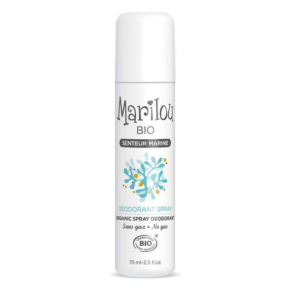 Deodorant Marine Organic Spray 75Ml Marilou Bio
