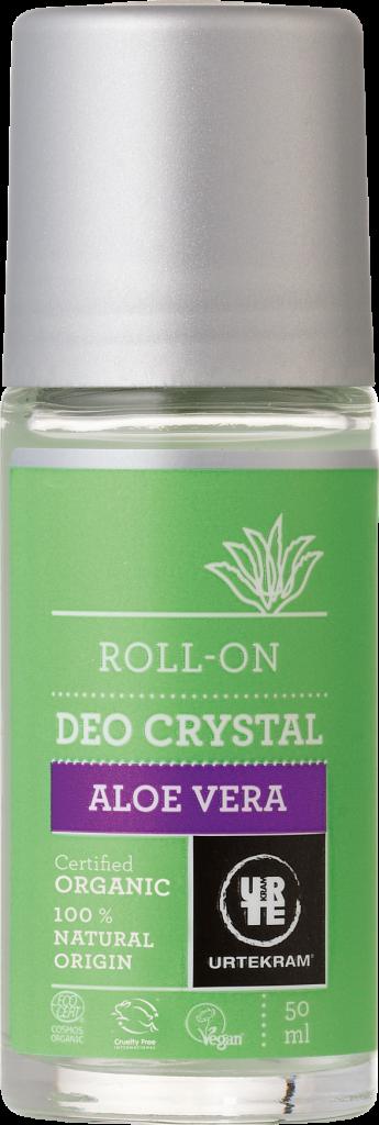 Deodorant Roll On Aloe Vera 50Ml Urtekram