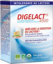 Digelact 4500 Bio Lactase 60 Comprimés