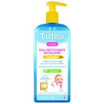 Eau nettoyante micellaire calendula bio 500ml Tidoo
