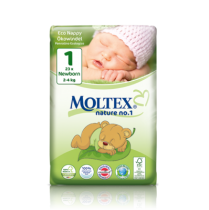 Ecological Nappies Junior 5 11-25kg 26 pieces Moltex