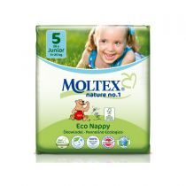 Ecological Nappies Maxi 4 7-18kg 30 pieces Moltex