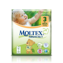 Ecological Nappies Mini 3-6kg 42 pieces Moltex