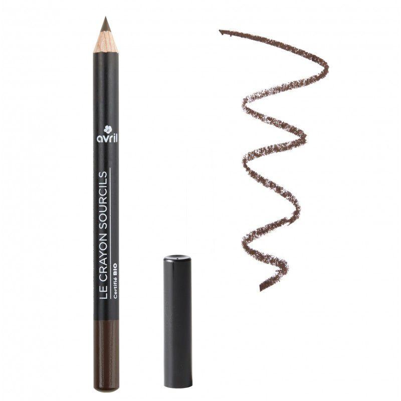 Eyebrown Pencil Brown Organic Avril