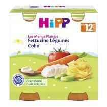 Fettucine Légumes Colin 12M Bio 2x250g Hipp