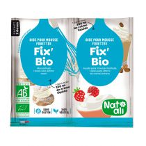 Fix\'Bio Aide pour Mousse Fouettée 2x8g Natali
