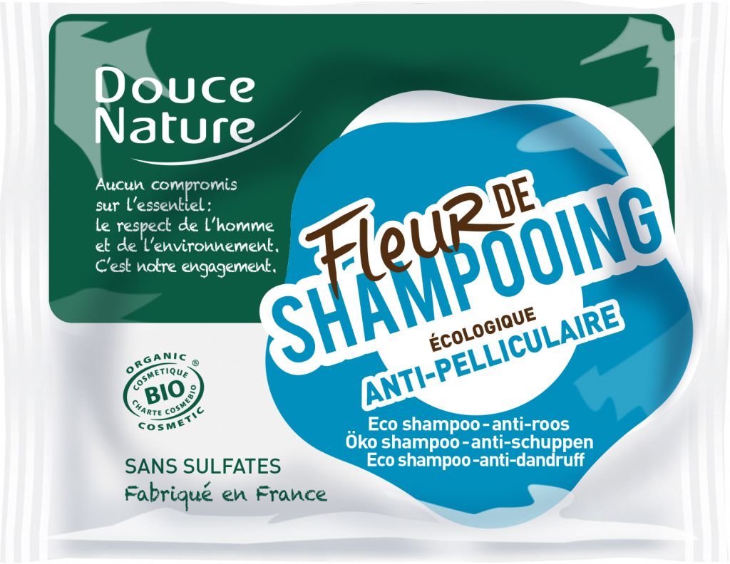 Fleur De Shampooing Anti Dandruff Organic Douce Nature