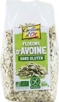 Flocons Avoine Sans Gluten Bio 500G