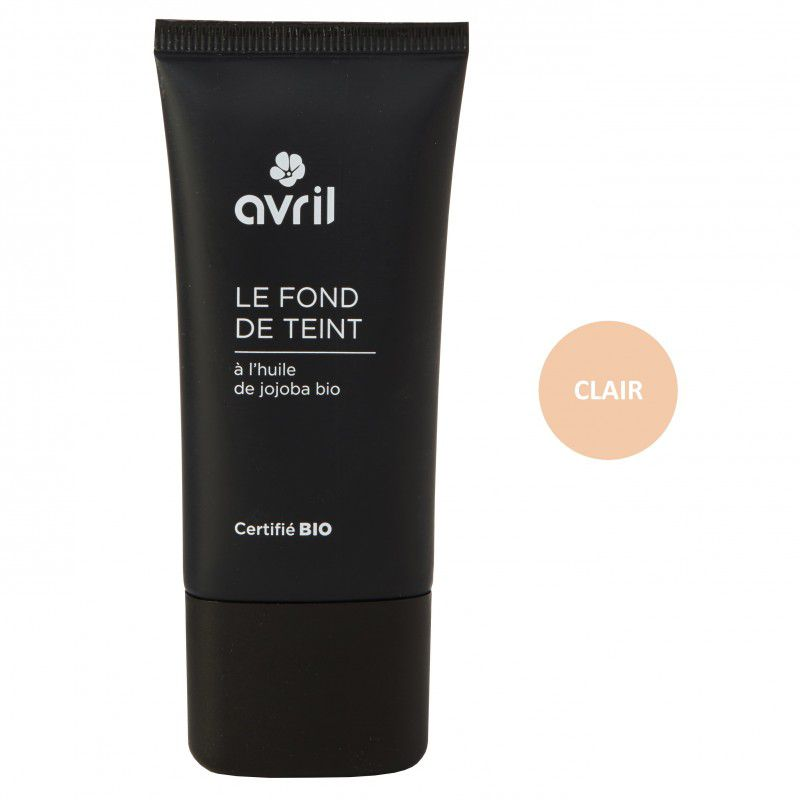 Foundation Clair Organic 30Ml Avril