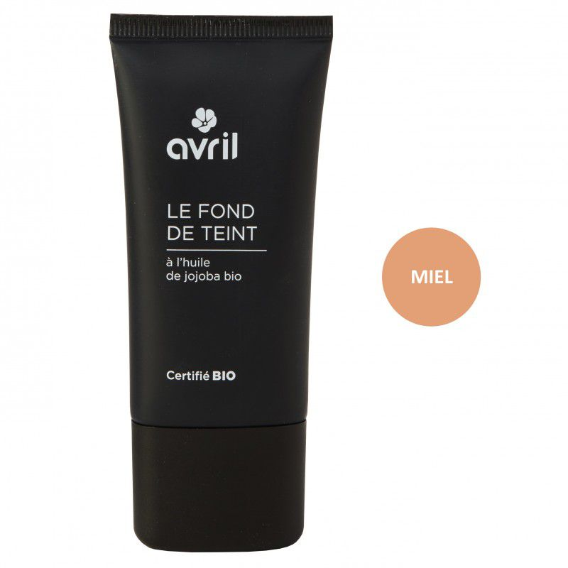 Foundation Miel Bio 30Ml Avril