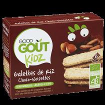 Galettes de Riz Choco-Noisettes 120g Good Gout
