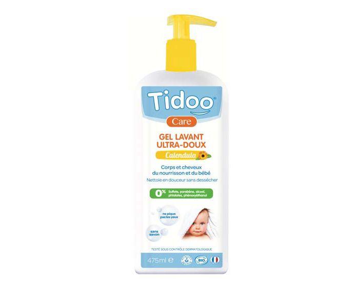 Gel Lavant Corps et Cheveux Calendula 475ml Tidoo