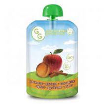 Gourde Bébé Pomme Abricot Cannelle 140G Bio