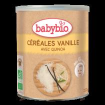 Graanvlokken Vanille Baby Bio 220G Babybio