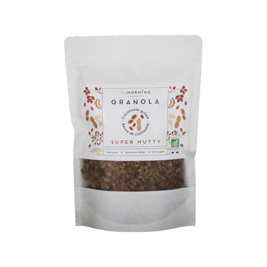 Granola Super Nutty 350g Nümorning