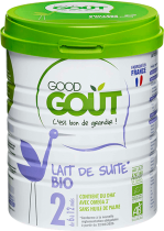 Growth Milk Organic 800g 10 to 36 M Good Gout