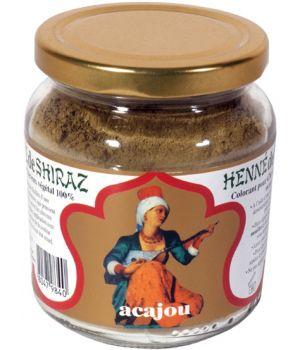 Henné de Shiraz Rouge Acajou 150g Beliflor
