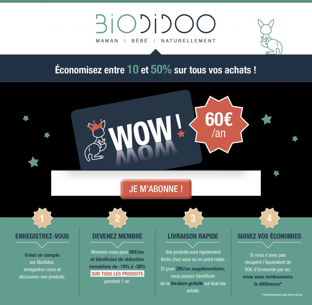Abonnement VIP Biodidoo