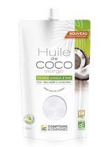 Huile de coco vierge bio 500ml Comptoirs et Compagnie